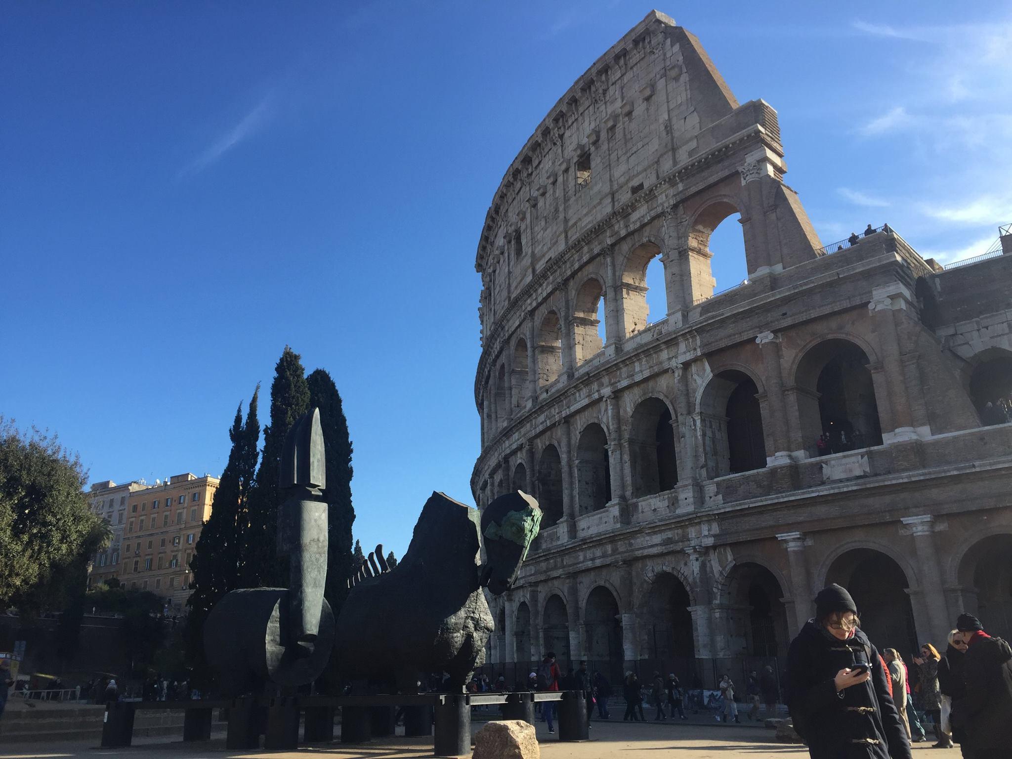 Za služební cestou do Říma