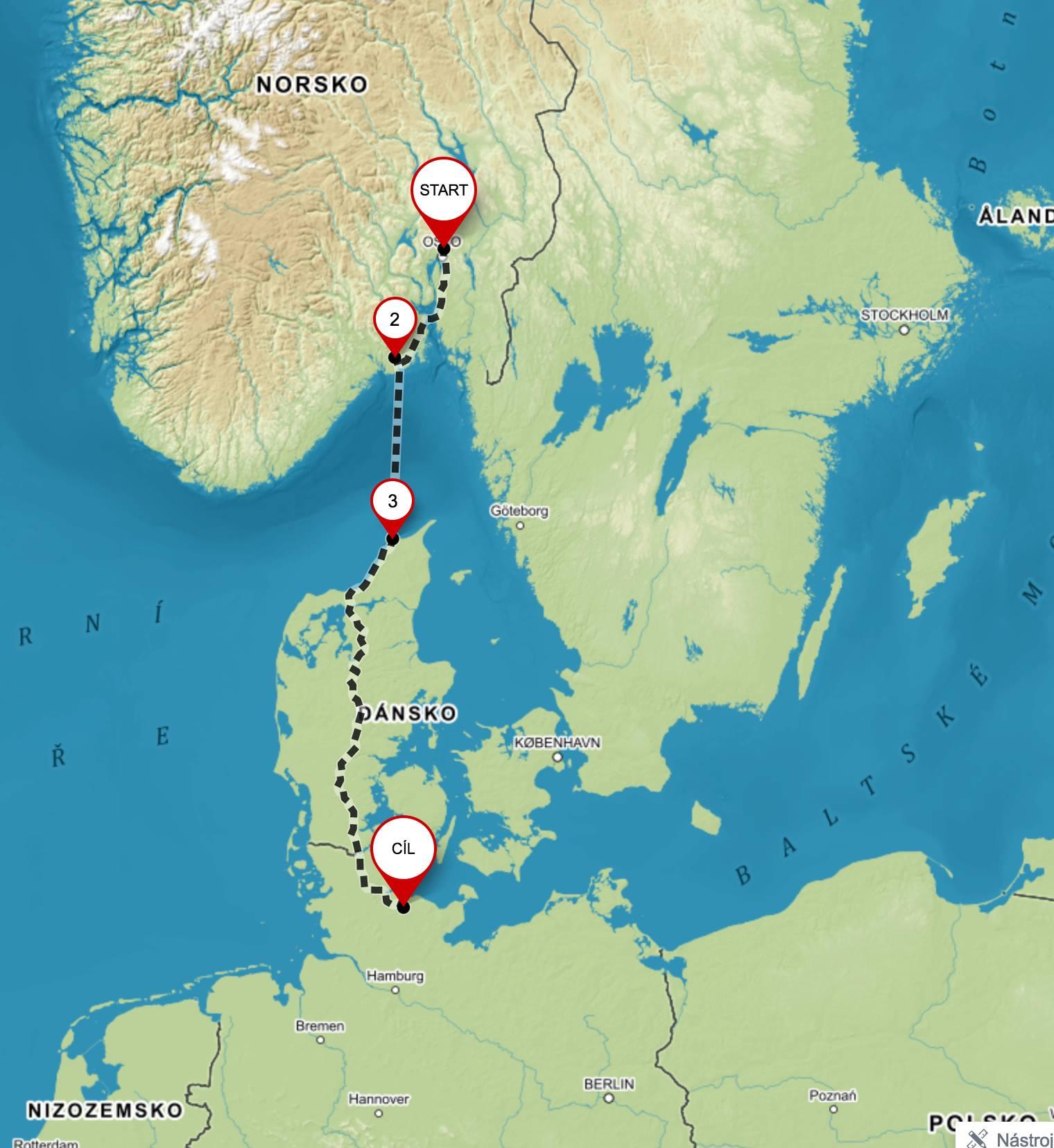 Na kole skrz Dánsko @ Dánsko