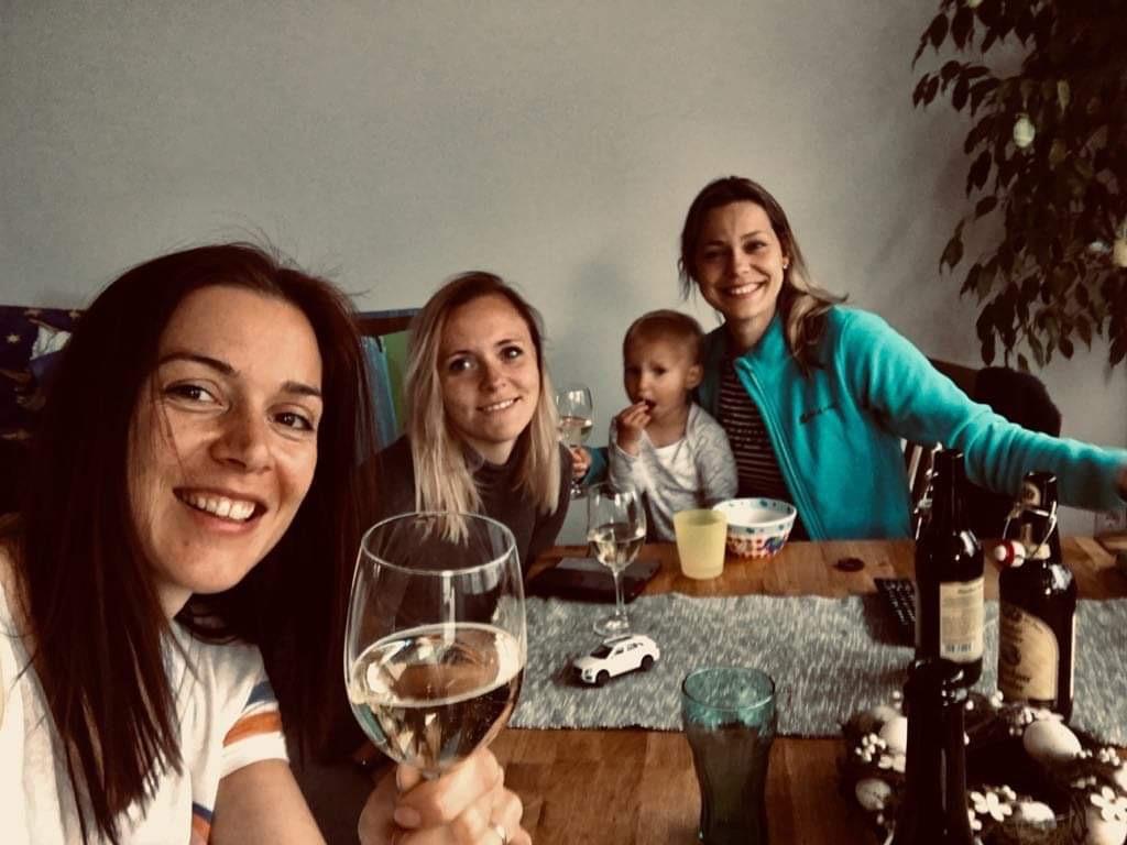 München mit Mädchen