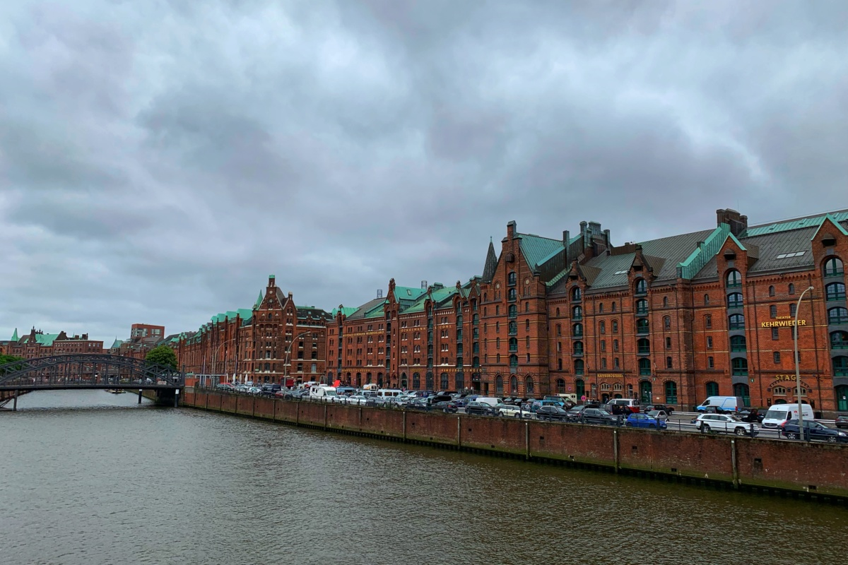 Hamburg – on the way to Cruadalach concert