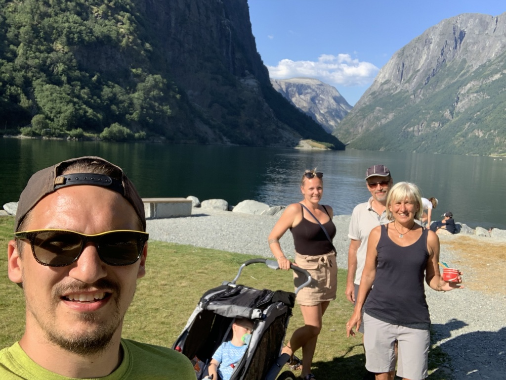 Putování karavanem středním Norskem 39