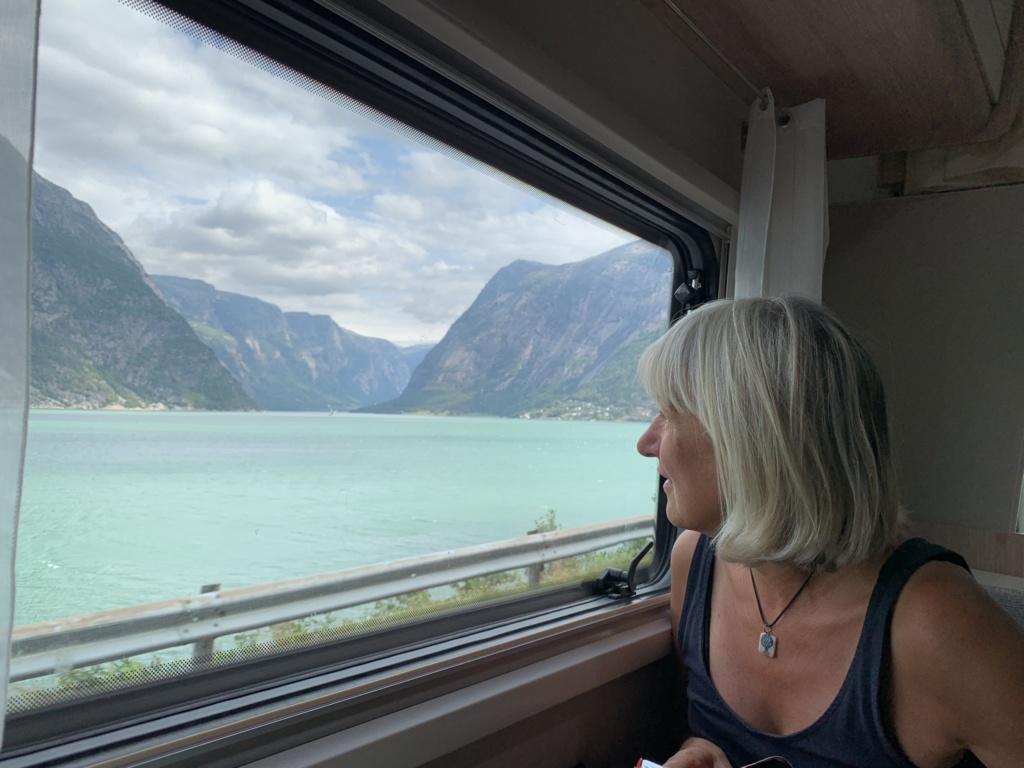 Putování karavanem středním Norskem 54
