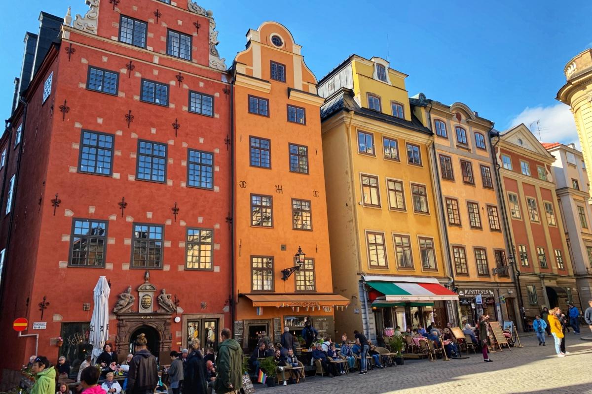 Vlakem do Stockholmu, Göteborgu a zpátky do Osla