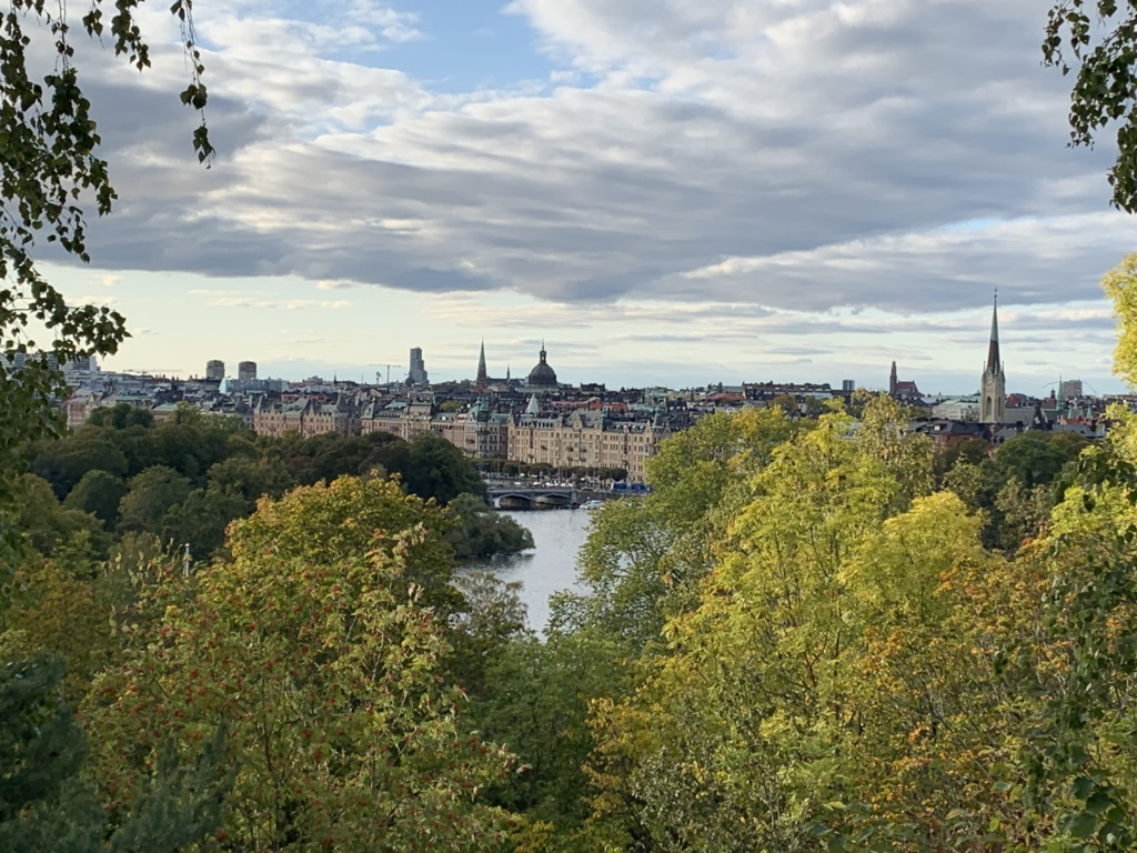 To the Stockholm, Goteborg and back to Oslo by train 24