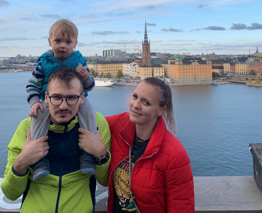 To the Stockholm, Goteborg and back to Oslo by train 44