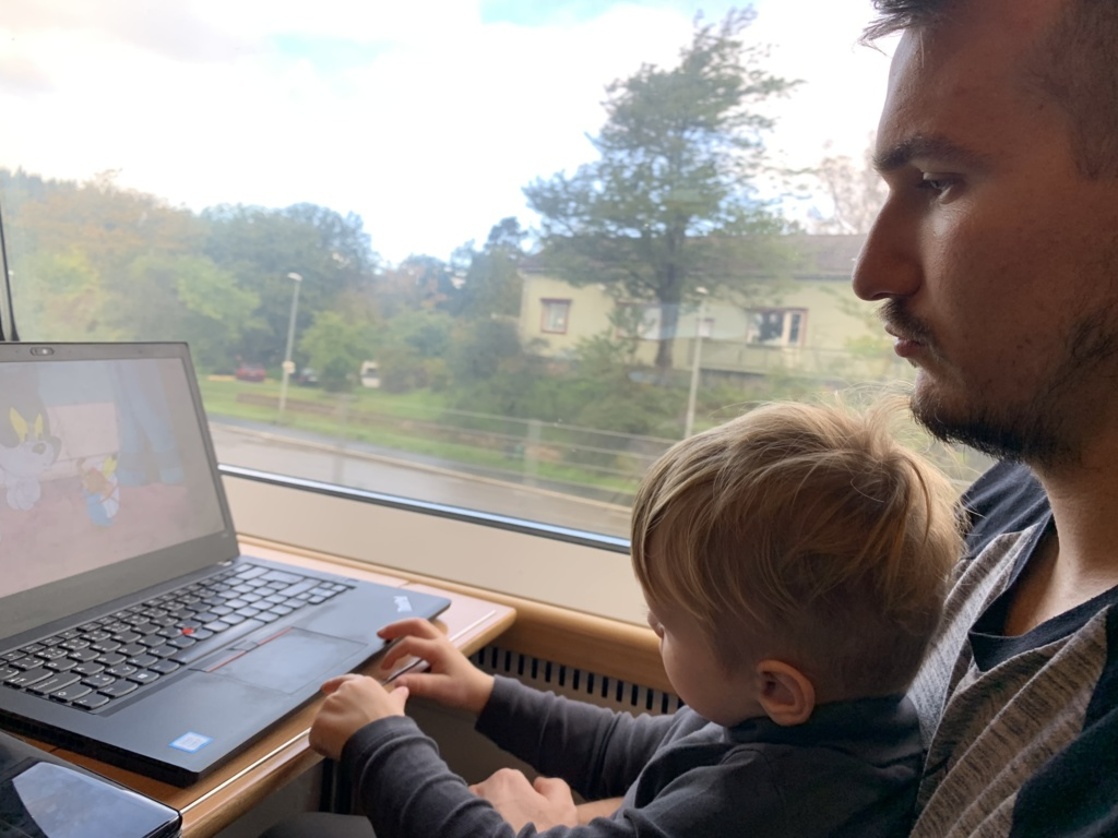 To the Stockholm, Goteborg and back to Oslo by train 54
