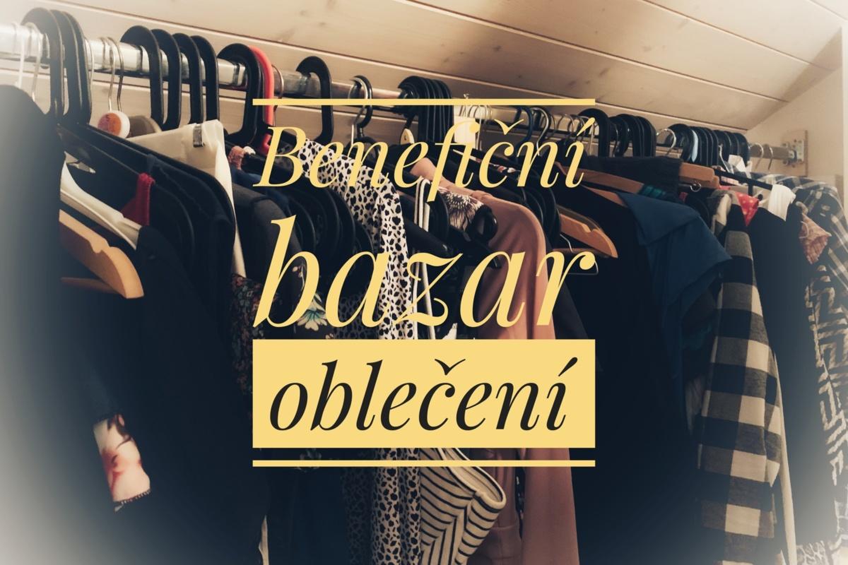 Benefiční bazar oblečení