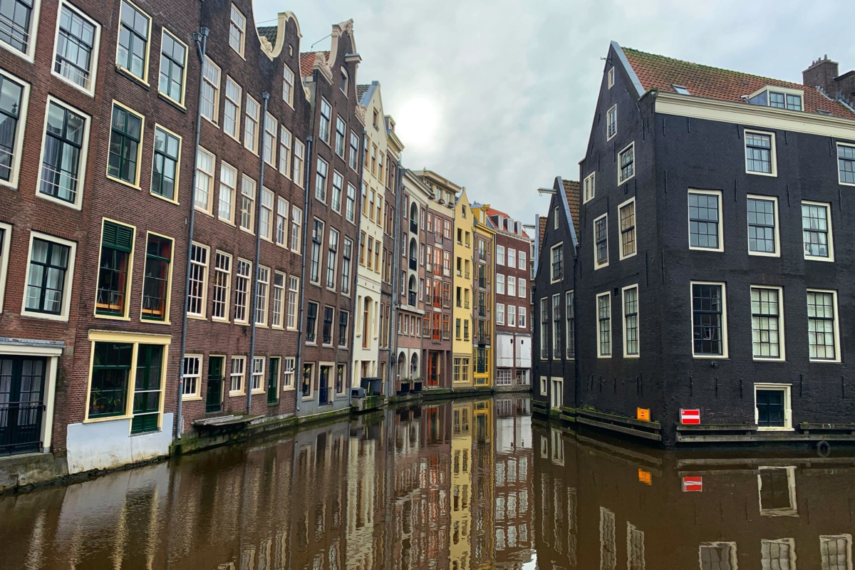 Kde bychom se mohly potkat, tak co třeba v Amsterdamu?