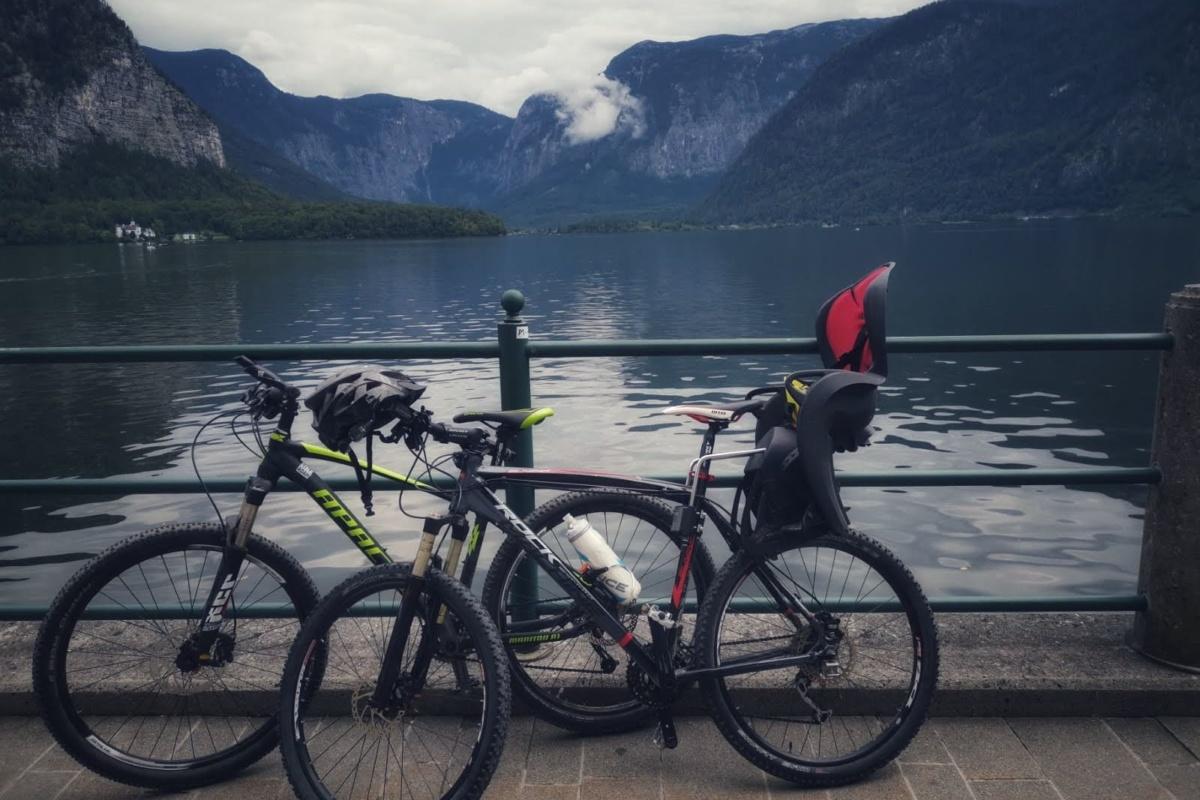 První cyklo dovolená k rakouským jezerům