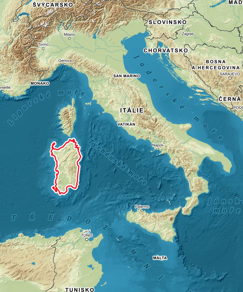 Sardinie - Smaragdové pobřeží 1